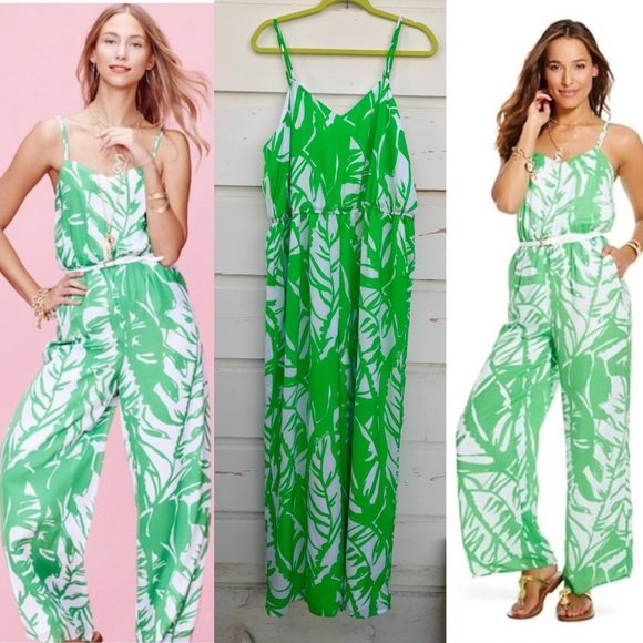 004b49da593 Lilly Pulitzer for Target green jumpsuit